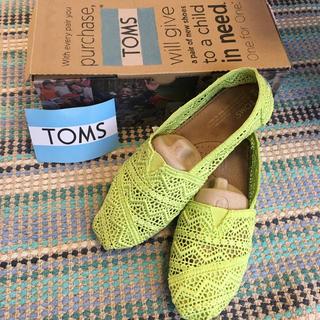 トムズ(TOMS)のtoms サンダル スニーカー ライム(スニーカー)