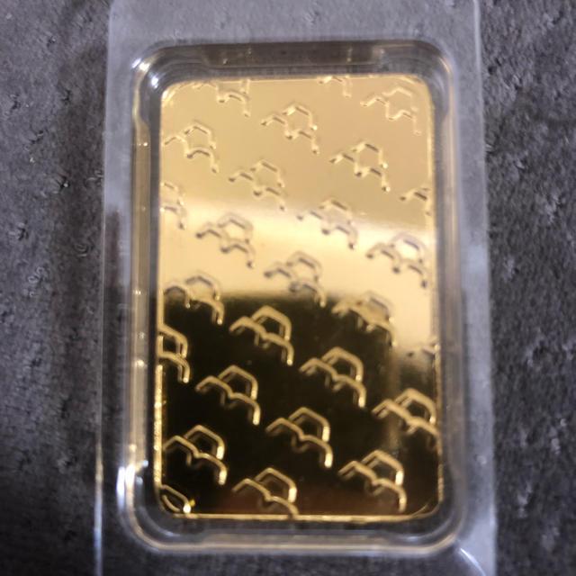 インゴット 100g 純金 999.9 エンタメ/ホビーの美術品/アンティーク(金属工芸)の商品写真