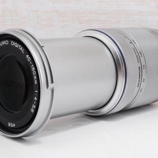 オリンパス(OLYMPUS)の★美品★望遠レンズ★OLYMPUS M.ZUIKO 40-150mm(レンズ(ズーム))