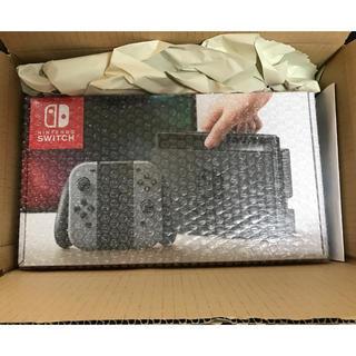 ニンテンドースイッチ(Nintendo Switch)のNintendo Switch グレー 新品(家庭用ゲーム本体)