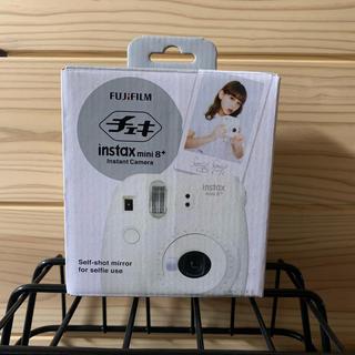フジフイルム(富士フイルム)のチェキ mini8  富士フイルム  カメラ   バニラ(フィルムカメラ)