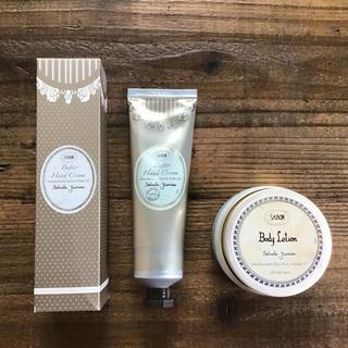 サボン(SABON)のSABON バターハンドクリーム&ボディローション【デリケートジャスミン】(ボディローション/ミルク)