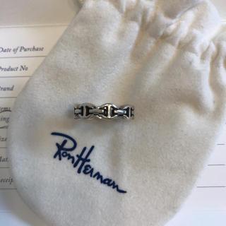 ロンハーマン(Ron Herman)のHOORSENBUHSホーセンブース トライリンクリング シルバー(リング(指輪))
