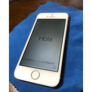 エーユー(au)のiPhone 5S 64GB au (新品大容量バッテリー換装済み)(スマートフォン本体)