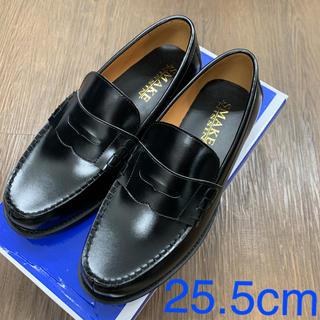 【新品】学生靴1010BL/25.5cmローファー(その他)