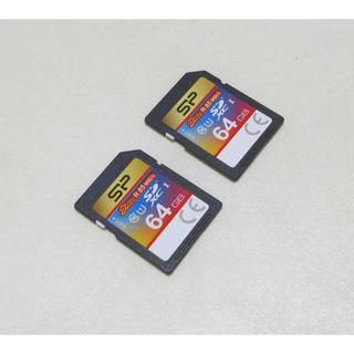 SDXCカード 64GB CLASS10×2枚
