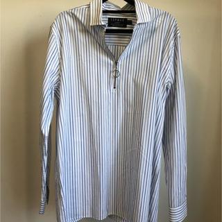 トップマン(TOPMAN)のTOPMAN プルオーバーリングジップシャツ(シャツ)