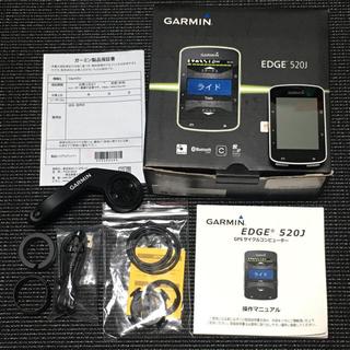 ガーミン(GARMIN)のガーミン GARMIN EDGE 520J 日本語 美品(パーツ)