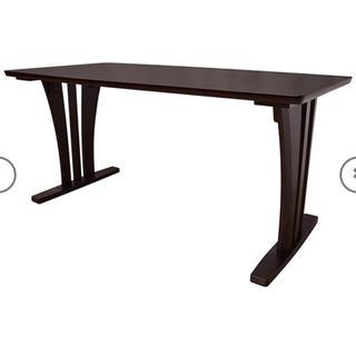 ニトリ(ニトリ)のダイニングテーブル ニトリ ブラウン(ダイニングテーブル)