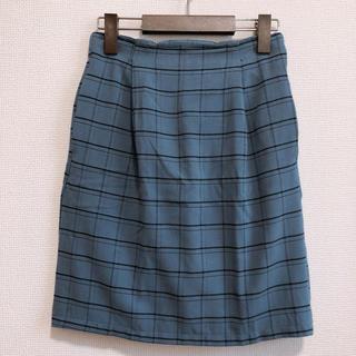 レイカズン(RayCassin)のRAY CASSIN チェック柄 タイトスカート(ひざ丈スカート)