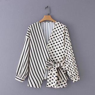 ZARA - ドット デザイン シャツ