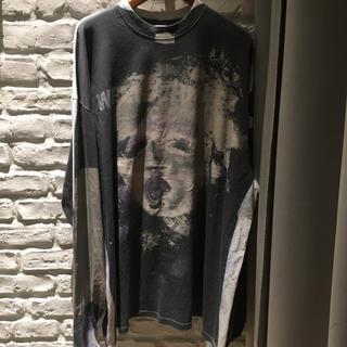 バレンシアガ(Balenciaga)の国内正規品 vetements ヴェトモン ロングスリーブ Tシャツ(Tシャツ/カットソー(七分/長袖))
