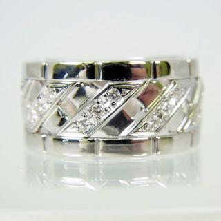 Pt900 ダイヤモンド リング 14号[f435-2](リング(指輪))