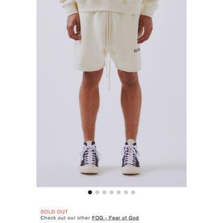 フィアオブゴッド(FEAR OF GOD)のESSENTIALS SWEAT short pants XS (ショートパンツ)