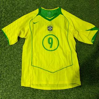 ナイキ(NIKE)のブラジル代表2004・2005 RONALDO 新品でガッポリなんです(ウェア)