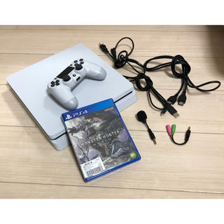 プレイステーション4(PlayStation4)のps4 本体 ソフト付き(家庭用ゲーム本体)