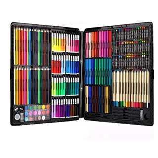 絵の具セット(水彩、クレヨン、色鉛筆、固形水彩)(絵の具/ポスターカラー )