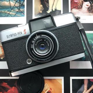 OLYMPUS - 【レア美品】OLYMPUS  PEN S F3.5 フィルムカメラ 【完動品】