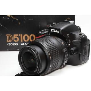 ニコン(Nikon)の❤️バリアングルモニター搭載❤️Nikon D5100 レンズキット(デジタル一眼)