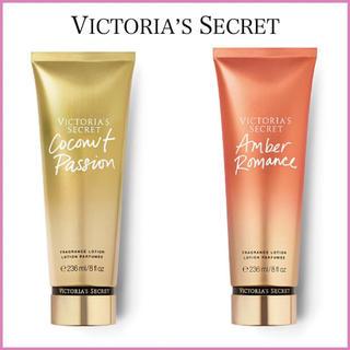 ヴィクトリアズシークレット(Victoria's Secret)の【限定SALE】ココナッツパッション+アンバーロマンス(ボディローション/ミルク)
