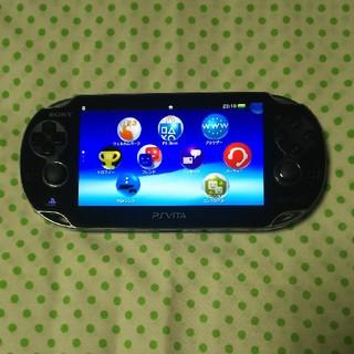 プレイステーションヴィータ(PlayStation Vita)のPSVITA1000(携帯用ゲーム本体)