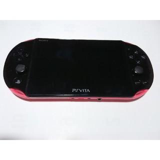 プレイステーションヴィータ(PlayStation Vita)のvita2000 ピンク(携帯用ゲーム本体)