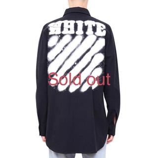 オフホワイト(OFF-WHITE)のOff-White Diagonal Spray Shirt (シャツ)