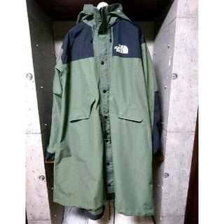 ザノースフェイス(THE NORTH FACE)のsacai the north face long coat XL(ロングコート)