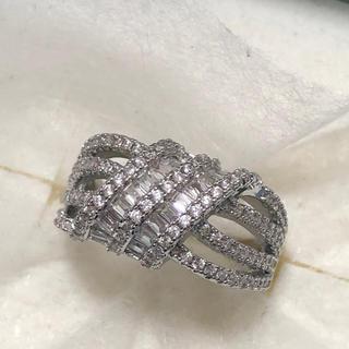5Aランク ホワイトジルコニア♡ シルバーリング(リング(指輪))