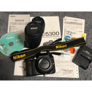 ニコン(Nikon)のNikonD5300ダブルズームキット(デジタル一眼)