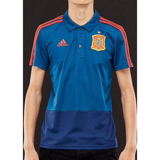 アディダス(adidas)のadidas スペイン代表 ポロシャツ Lサイズ(ポロシャツ)