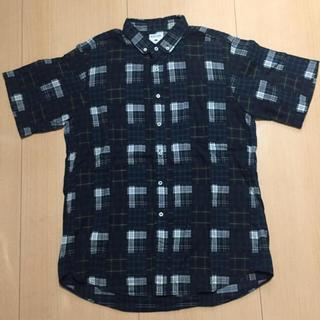 半袖 チェックシャツ
