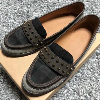 アングリッド(Ungrid)のungrid/スタッズローファー/L(ローファー/革靴)