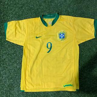 ナイキ(NIKE)のブラジル代表2006W杯ドイツ大会RONALDO中古でガッポリなんです(ウェア)