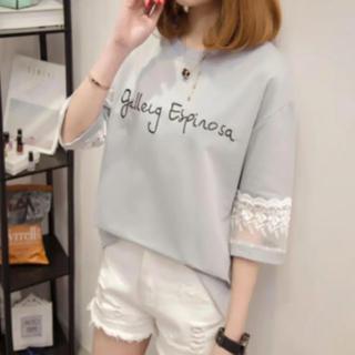 レースTシャツ(Tシャツ(半袖/袖なし))