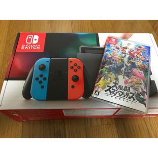 ニンテンドースイッチ(Nintendo Switch)のニンテンドースイッチ スマブラ(家庭用ゲーム本体)