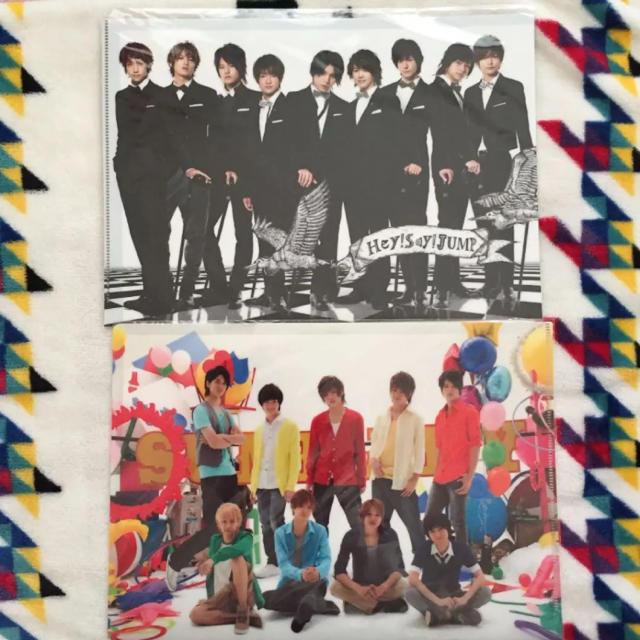 Hey! Say! JUMP(ヘイセイジャンプ)のHey!Say!JUMPクリアファイル8枚セット★新品 エンタメ/ホビーのタレントグッズ(アイドルグッズ)の商品写真