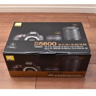 ニコン(Nikon)の「新品・未開封」Nikon D5600 ダブルズームキット(デジタル一眼)