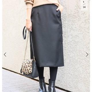 ラトータリテ(La TOTALITE)の美品 ラトータリテ サイドボタンタイトスカート(ひざ丈スカート)