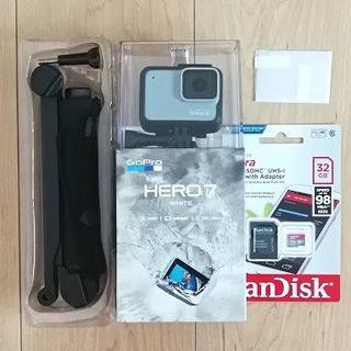 ゴープロ(GoPro)の新品 GoPro HERO7 Whiteセット(ビデオカメラ)
