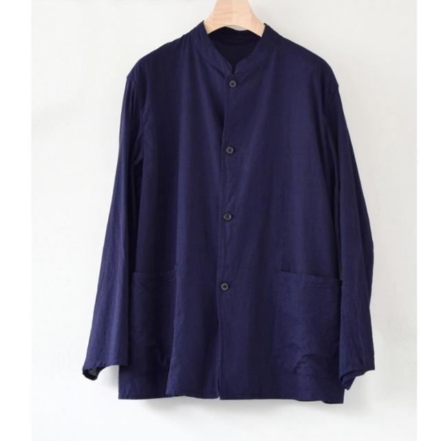 COMOLI(コモリ)のcomoli ベタシャン スタンドカラージャケット メンズのジャケット/アウター(テーラードジャケット)の商品写真
