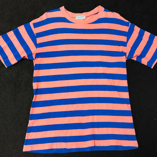 ユナイテッドアローズ(UNITED ARROWS)の送料無料 ユナイテッドアローズ 半袖Tシャツ ボーダー 青 ピンク(Tシャツ/カットソー(半袖/袖なし))