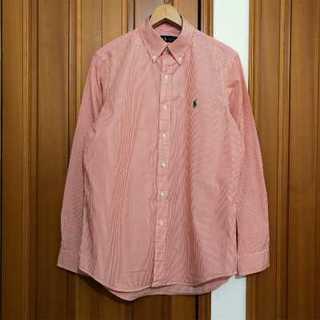 ラルフローレン(Ralph Lauren)のSh-142 Ralph Lauren ストライプ柄 長袖 シャツ M(シャツ)