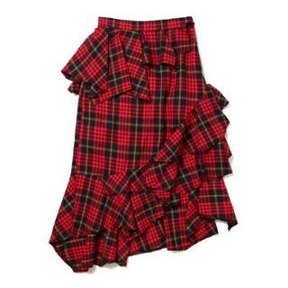 リルリリー(lilLilly)のsisterjane  フリルスカート 変形スカート マーメイド スリット(ロングスカート)