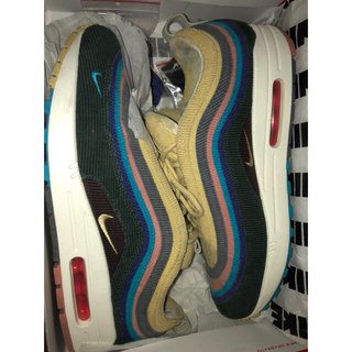 ナイキ(NIKE)のNIKE AIR MAX 1/97 SF SEAN WOTHERSPOON 27(スニーカー)