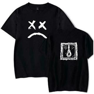 黒 ブラック 3XLサイズ リルピープ Tシャツ 半袖 カットソー(Tシャツ/カットソー(半袖/袖なし))