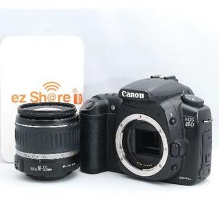 キヤノン(Canon)の☆WiFiSDで転送ok☆ Canon キャノン EOS 20D レンズキット(デジタル一眼)
