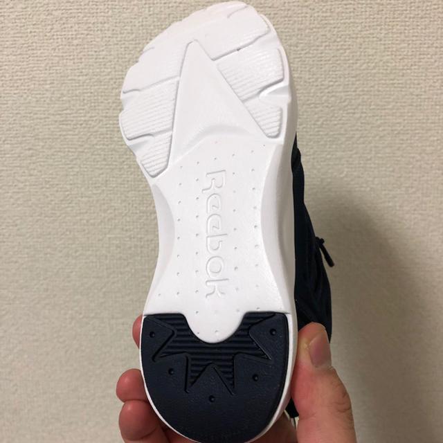 Reebok(リーボック)のリーボックReebok子供Furylite 19センチ ネイビー キッズ/ベビー/マタニティのキッズ靴/シューズ (15cm~)(スニーカー)の商品写真