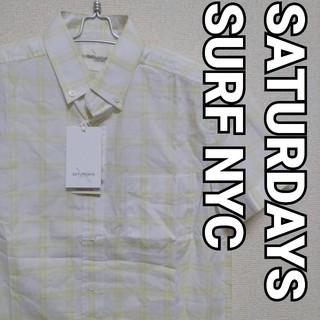 サタデーズサーフニューヨークシティー(SATURDAYS SURF NYC)のUSED品 SATURDAYS SURF NYC 半袖シャツ XSサイズ(シャツ)
