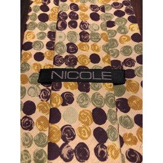 ニコル(NICOLE)の【NICOLE】美品 ネクタイ モダンな1本(ネクタイ)